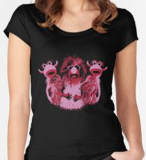 Mahna Mahna! - Pink! Women's Fitted Scoop T-Shirt
