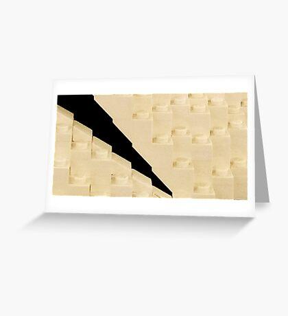 lego 3 Greeting Card