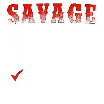 Level Of Savage Low Medium Aries by teelover26