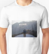 The Lego Backpacker does Hollywood T-Shirt
