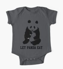 LET PANDA EAT Kids Clothes