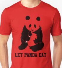 LET PANDA EAT Unisex T-Shirt