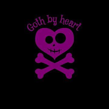 Goth by heart by RavenMontoya