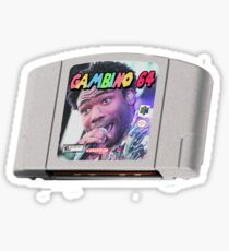 Childish Gambino - Nintendo Cartridge Sticker