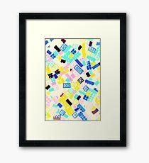 Legos! Framed Print