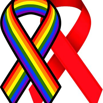 LGBT HIV/AIDS Awareness by SillySilhouette