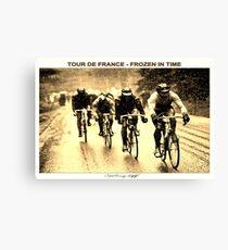 TOUR DE FRANCE; Vintage Frozen in Time Print Canvas Print