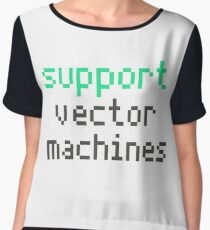 Support vector machines (green) Chiffon Top