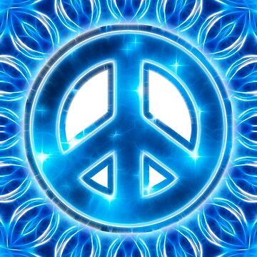 Espacio Paz, Estrella, Universo, Galaxia, Planeta, de boom-art