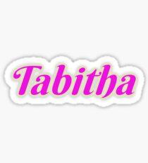 Tabitha Sticker