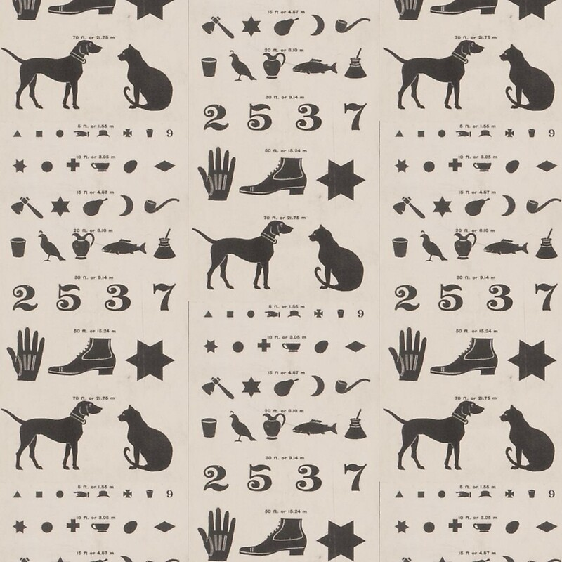 "Vintage Symbols Eye Chart "" A-Line Dresses By Bluespecsstudio"