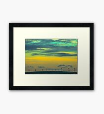 Powered By The Wind Framed Print