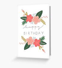 Tarjeta de felicitación Fiona Feliz cumpleaños / Tarjeta de felicitaciones