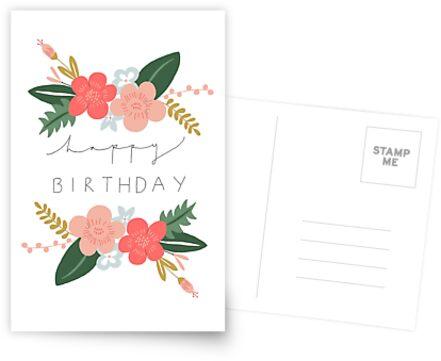 «Fiona Feliz cumpleaños / Tarjeta de felicitaciones» de Francesca  Fearnley