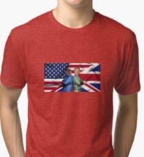 Nigel Farage & Donald Trump Tri-blend T-Shirt