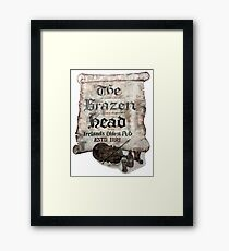 The Brazen Head pub, Dublin, Ireland Framed Print