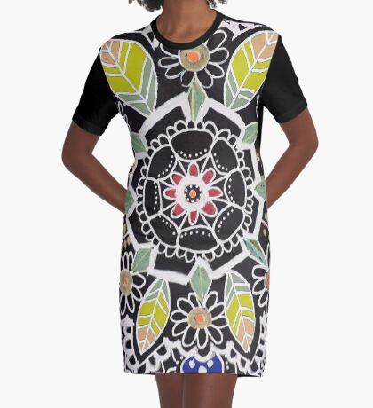 fleur indienne Robe t-shirt
