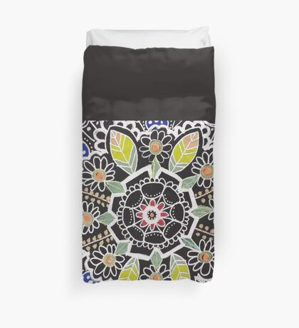 fleur indienne Duvet Cover