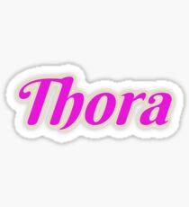 Thora Sticker