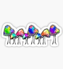 Magic Mushrooms Sticker