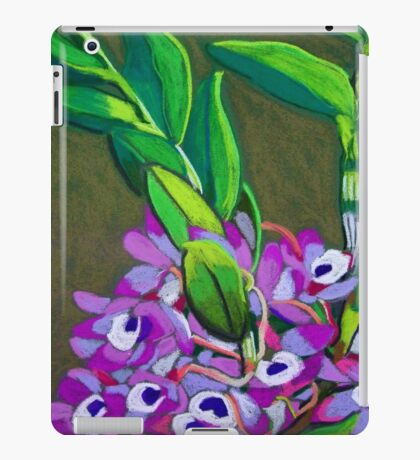 Wild orchids iPad Case/Skin