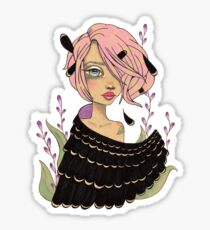 Changeling Girl Sticker