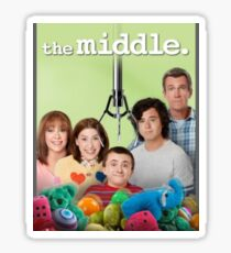 The Middle Cast  Sticker