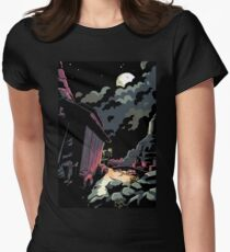 Bounty - Night's Journey Women's Fitted T-Shirt