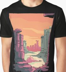 Bounty - Journey Begins at Sunset Graphic T-Shirt