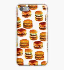 Flashback Burger - Vintage Art iPhone Case/Skin