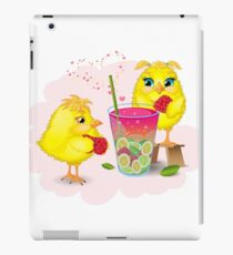 Chickens are preparing a magic elixir.  iPad Case/Skin