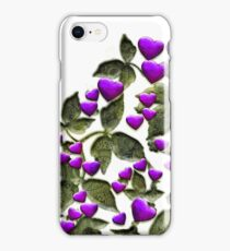 Gothic Heart Tree in Bloom iPhone Case/Skin