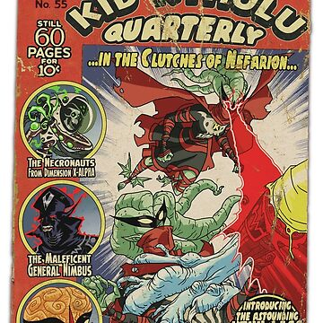 Kid Kthulu Quarterly No. 55  by tnperkins