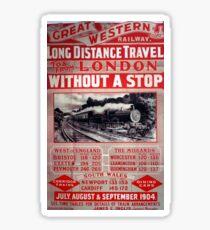 Great Western Railway Sticker