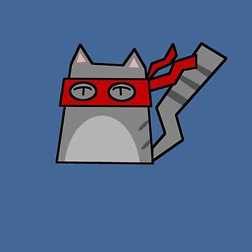Raphael Teenage Mutant Ninja Kitty by Rjcham