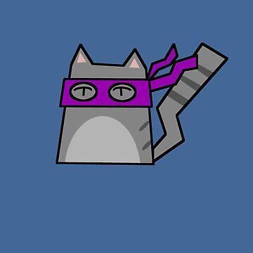 Donatello Teenage Mutant Ninja Kitty by Rjcham