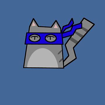 Leonardo Teenage Mutant Ninja Kitty by Rjcham