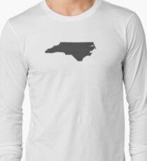 North Carolina Plain Long Sleeve T-Shirt