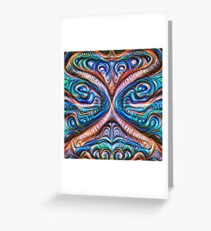 Frozen astral liquid #DeepDream #Art Greeting Card