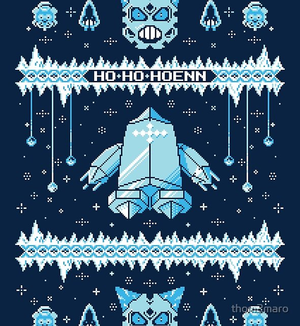 Such an Ice Sweater: Ho-Ho-Hoenn by thom2maro
