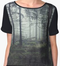 Through The Trees Women's Chiffon Top