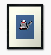 Ash (pokemon) Cat Framed Print