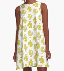 Chocobo Pattern A-Line Dress