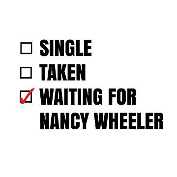 Waiting for Nancy Wheeler by kardish
