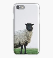 Harshness of winter on the moors iPhone Case/Skin