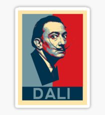 Salvador Dali Hope Poster Sticker