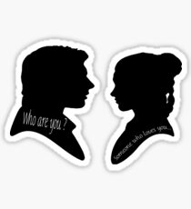 Someone who loves you • Princess Leia Han Solo Sticker