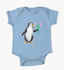 Penguin valentine  One Piece - Short Sleeve