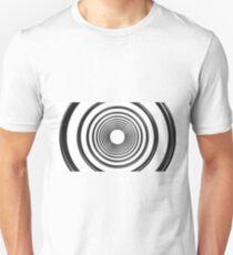 abstract futuristic circle pattern T-Shirt