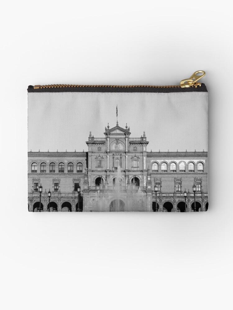 Plaza de Espana Seville by Andrea Mazzocchetti